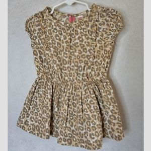 3/20$ Cherokee 18 month lepord print dress